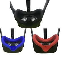 Silikonowa osłona na okulary VR Oculus Quest - czerwona